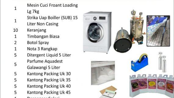Paket Usaha Laundry Pontianak