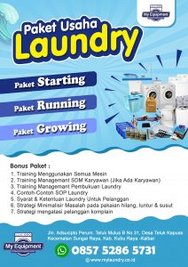 Penjualan Alat laundry di Pontianak