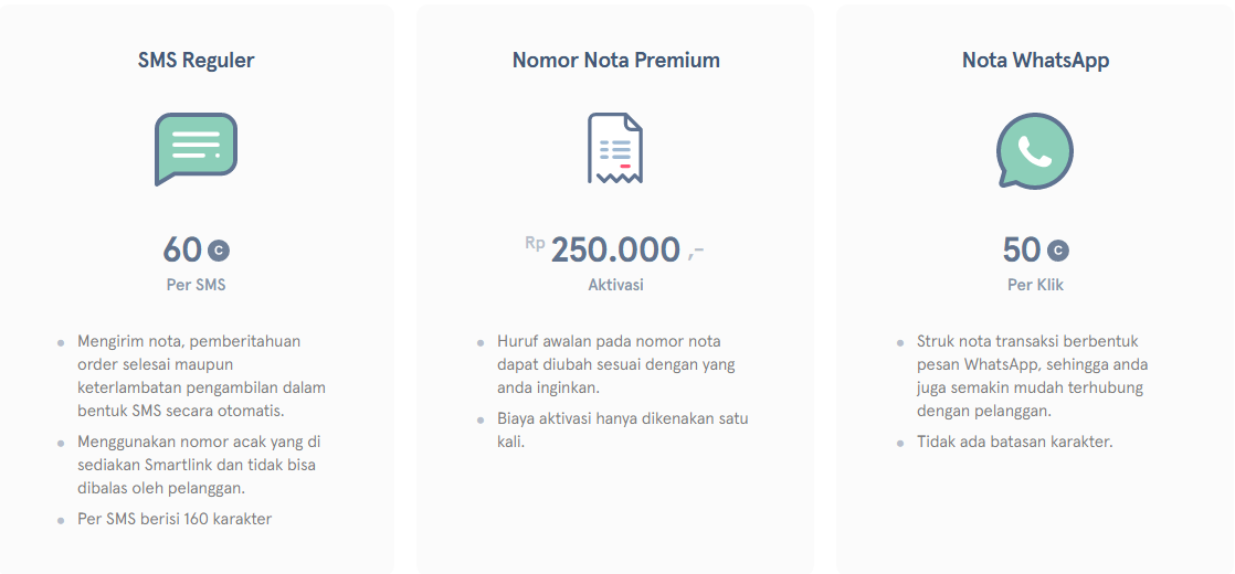 Jual Aplikasi Laundry Smartlink Pertama Jakarta Pusat