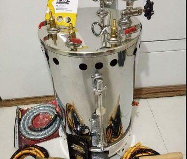 Menjual Setrika Uap Gas Perlengkapan Loundry Pontianak