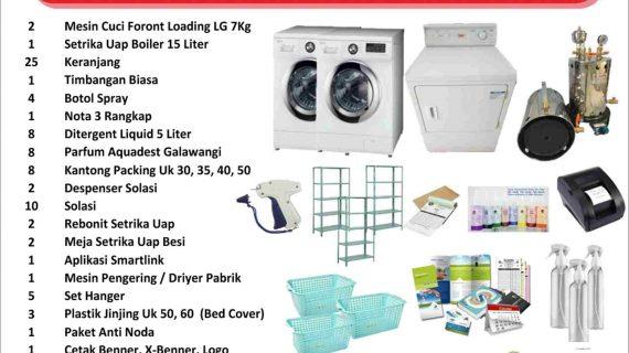 Paket Bisnis Laundry Pemula Pontianak