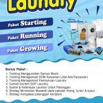 Paket Usaha Laundry Satuan Kediri
