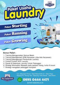 Harga Paket Usaha Laundry Purwokerto